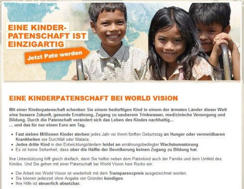World Vision Patenschaft